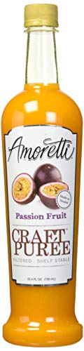 Amoretti Craft Puree, Passion Fruit, 25.4 Fluid Ounce