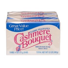 CASHMERE BOUQUET - Package of 3 Bars 4 OZ each bar