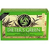 A BOX TRIPLE LEAF DIETER'S GREEN HERBAL TEA 1.4 OZ, FAST SHIPPING Review