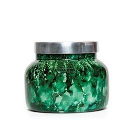 Capri Blue 19 oz. Watercolor Collection Jar Candle-Green-cactus flower (Votivo Color Collection)
