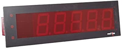 Red Lion EPAX Red Extra Large LED Display for Analog MPAX Modules