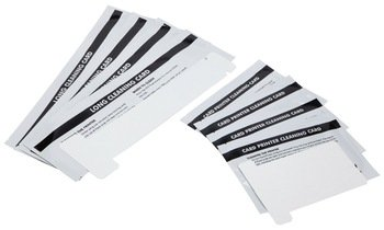 Cleanmo Cleaning Card Kit for Card Printers P110i, P110m and P120i, Pack of 8 pcs