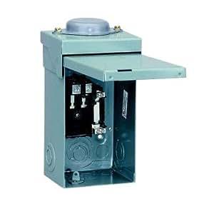 schneider electric load center qo mlo 240 volt 40 amp 1. Black Bedroom Furniture Sets. Home Design Ideas