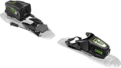 LOOK Kid-X 4 Ski Bindings Black/Green Kid's Sz 76mm