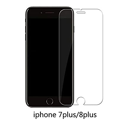 16a3bc9a34a8f4 Image Unavailable. Image not available for. Color: Protective Tempered  Glass for iPhone 6 6S 7 5 5S SE 6s 8 Plus ...