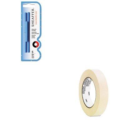 KITSHF96320UNV51301 - Value Kit - Sheaffer Skrip Ink Cartridges (SHF96320) and Universal General Purpose Masking Tape (UNV51301)