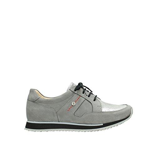 Grey Nubuck Wolky 05800 Confort nbsp;e Formadores walk 20200 w08wSP