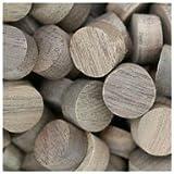WIDGETCO 1/2'' Walnut Wood Plugs, Face Grain