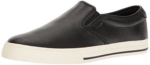 Polo Ralph Lauren Men's Vaughn, Black-1, 10.5 D - Lauren On Slip Ralph