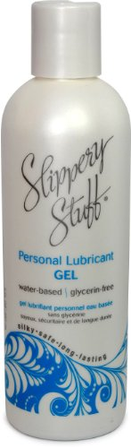 slippery stuff water based gel personel lube lubricant 8 oz., Health Care Stuffs