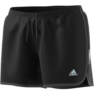 """adidas Women's Running Shorts, Black, Medium/3"""""""