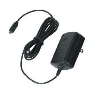Motorola Travel Charger for Motorola Droid RAZR, Atrix 4G, Atrix 2, Droid Bionic, and Other Micro USB Phones (Black) - Bulk Packaging