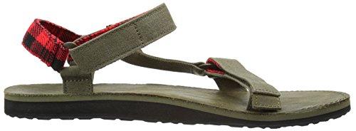 Teva Uomo M originale universale Workwear Sandalo pietra grigia
