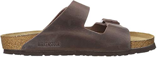 BIRKENSTOCK Herren Arizona Greased Leather Pantoletten