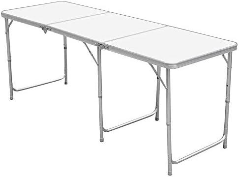 Nestling® Aluminio Portable Mesa Plegable Camping Banquetes Picnic ...