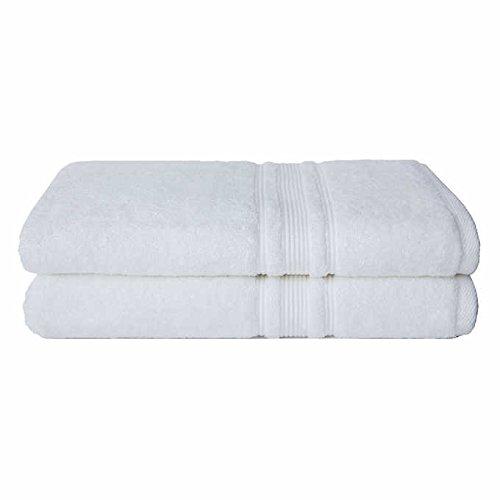 Charisma 100% Hygro Cotton 2-piece Bath Sheet Set - White by Charisma (Image #1)