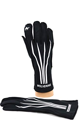 Red Camel WLVRN Kart Racing Glove Black/White ()