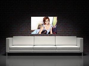 Emma Watson Poster Print on Canvas