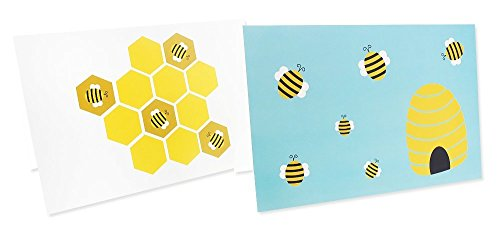 48 Pack All Occasion Assorted Blank Note Cards Greeting Cards Bulk Box Set -  6 Honey Bear Designs - Blank on the Inside Notecards with Envelopes Included - 4 x 6 Inches by Best Paper Greetings (Image #7)