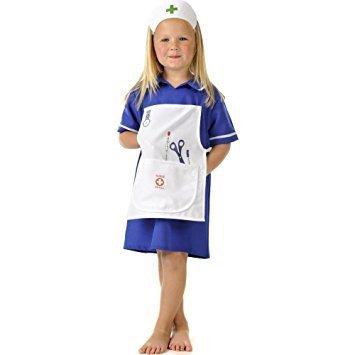 Disfraz de enfermera para niña pequeña: Amazon.es: Juguetes ...