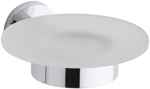 (KOHLER K-14461-CP Stillness Soap Dish, Polished Chrome)