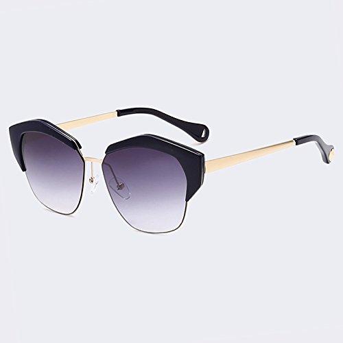 Ojo de Gafas sol de lentes espejo con Gato C05 de gafas metal mujer tonos clásicas C05 TIANLIANG04 de marco de UV400 Yqn5fdqF