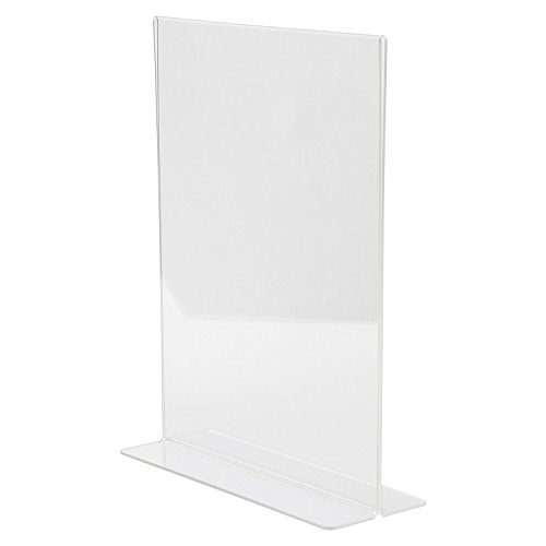 Clear Ad Lhc 8511 Double Sided Acrylic Upright T