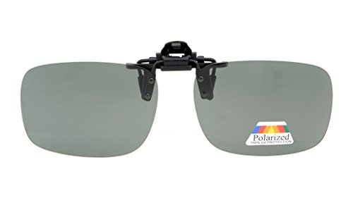 Eyekepper Flip-up Clip-on Sunglasses Polarized 2 3/8