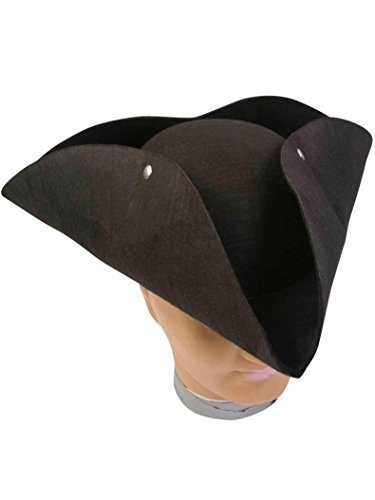 Deluxe Molded Pirate Hat (Standard) -