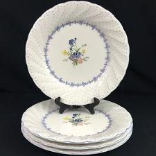 Nikko Blue Peony (SET/5) Dinner Plates 10 3/4