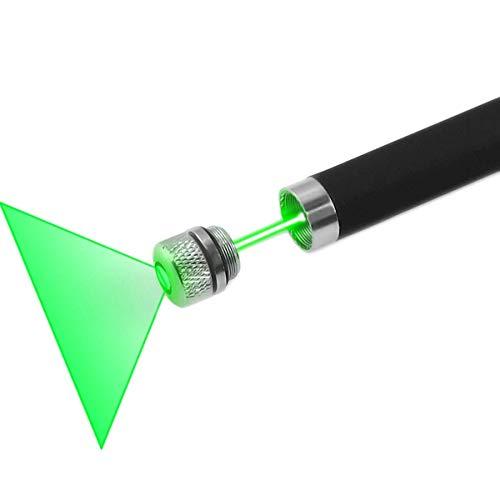 FreeMascot Green/Red Light Line Beam Presenter Pen (Black) (Green)