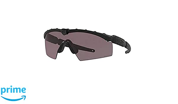 ae886d4565 Amazon.com  Oakley SI Industrial M Frame 2.0 Color  Matte Black (frame) -  Prizm Gray Clear array (lens) OO9213-0632  Clothing