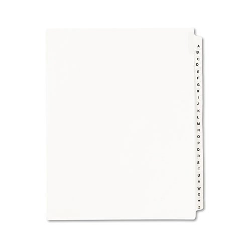 Avery 30% Recycled Avery-Style Standard Collated Legal Index Exhibit Dividers, Side-Tab, A-Z, 8 1/2