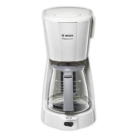 Bosch CompactClass TKA3A031 - Cafetera de goteo, para 10 o 15 tazas, color blanco