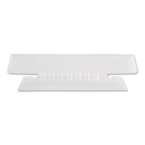 Zum Aufhängen Datei Ordner Tabs, 1 3 Tab, 3 1 5,1 cm, transparent Tab weiß Einsatz, 25 Pack, verkauft als jeweils 25 B0147GR8CU   Ruf zuerst