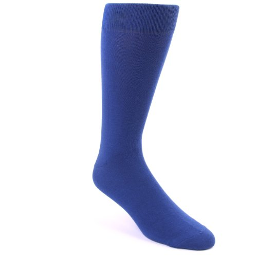 Boldsocks Solid Color Men's Dress Socks, Midnight Blue, 8-12 (Best Way To Develop Employees)