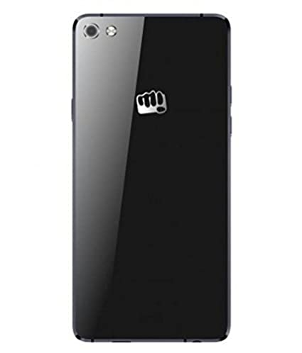 cheap for discount 8bd9a 0235a MIMOB Glass Battery Back Door Panel for Micromax Canvas Sliver 5 Q450 Black