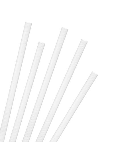 (Greenhouse Jumbo Smoothie Straws, Pack of 200, Compostable Biodegradable PLA, Unwrapped Smoothie Shake Size .30