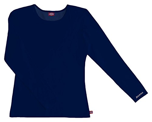 Dickies Womens Long Sleeve Crew Neck T Shirt