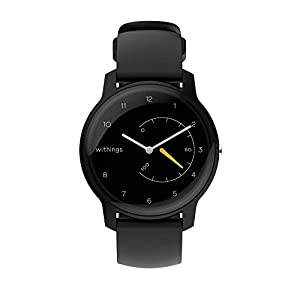 Withings Move Hybrid Smartwatch – Activity Tracker with Connected GPS, Sleep Monitor, Water Resistant with 18-month battery life