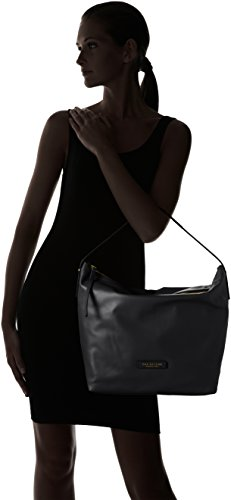 The Bridge - SAC BAG, Borsa con Maniglia Donna Nero (Schwarz (30 30))