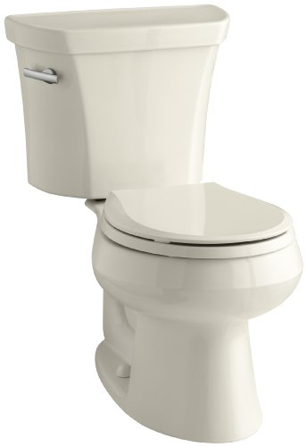 Kohler K-3977-47 Wellworth Two-Piece Round Toilet Less Seat with 12