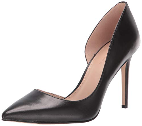 BCBG Generation Women's Lenny Pump, Black Leather 7 M US