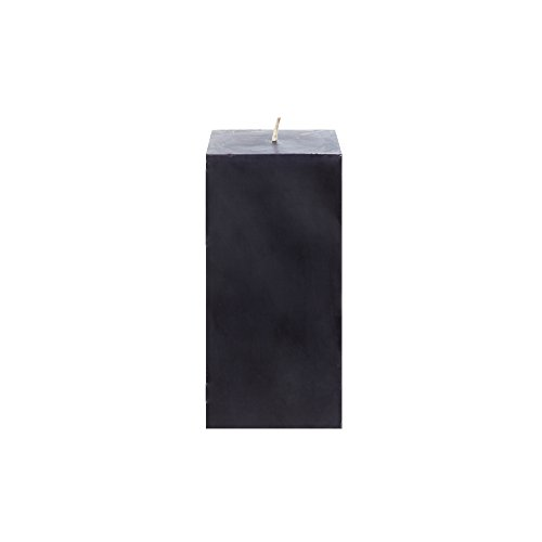 Wedding Pillar Square (Mega Candles Unscented Black Square Pillar Candle | Hand Poured Premium Wax Candles 3