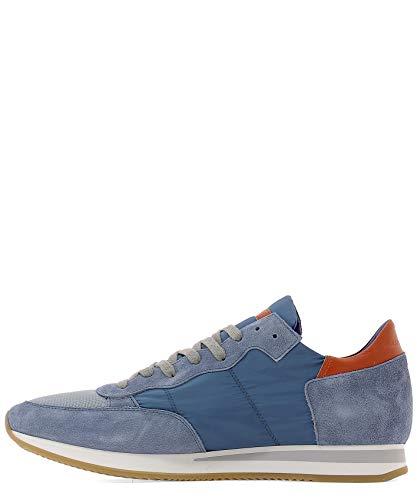 Camoscio Philippe Uomo Blu Model Trlu1104 Sneakers aZqZg0