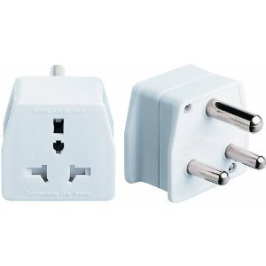 South African Travel Adaptor 2 Pack