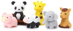 Iwako Japanese Puzzle Erasers Animals product image
