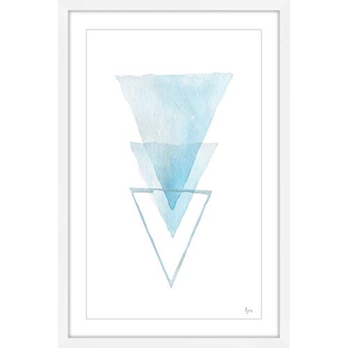 Marmont Hill Inc 'Inverted Iceberg' Framed Painting Print 16 x 24 from Marmont Hill Inc