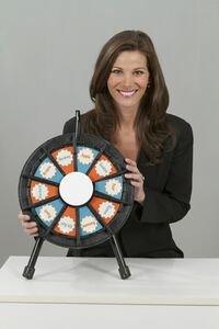 PrizeWheelsRFun 63035 10 Slot Micro Prize Wheel Game 14 Inch Diameter by PrizeWheelsRFun