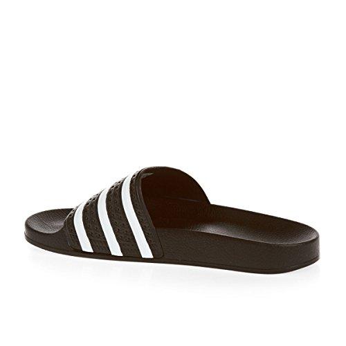3d25fc3a2959a7 60%OFF ADIDAS Adilette men slippers pool RUBBER BLACK WHITE 280647 eu47